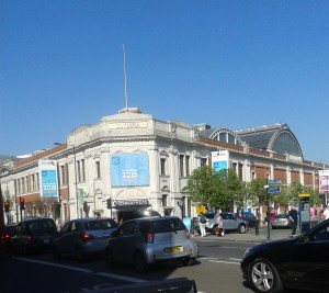 The London Book Fair at Olympia.